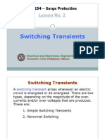 EE254-2 Switching Transients