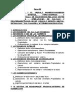 Tema 22 Oposiciones magisterio primaria
