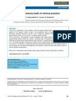 Supernumerary Teeth in Clinical Practice