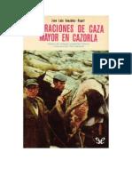 Gonzalez Ripoll Juan Luis - Narraciones de Caza Mayor en Cazorla