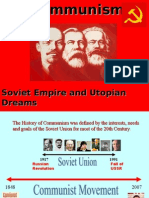 Communism Soviet Empire and Utopian Dreams