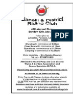 Llanelli and District Riding Club