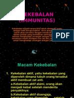 KEKEBALAN (IMMUNITAS)