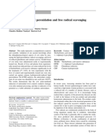 In Vitro Study of Lipid Peroxidation and Free Radical Scavenging Activity of Cow Urine