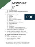 Informe de Compatibilidad Del Expediente Tecnico