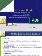 Metabolismul Lipidic 2014
