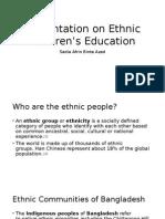 Ethnic Children's Education
