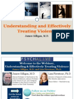Understanding and Treating Violence