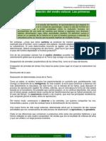 MODULO I Tema 2Poblamiento y Explotación Del Medio Natural. Las Primeras