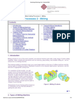 Machining & Metrology Unit - Handout (0103)