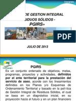 Plan de Gestion Integral Residuos Sólidos -Pgirs