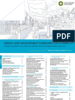 Design and Management Guidelines for a Safer City