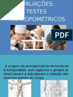 Testes Antropométricos