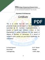 2. College Certificate