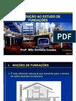 Aula 1 - Introducao Ao Estudo de Fundacaoes