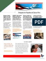 Boletín Cuba de Verdad Nº 55-2015