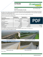 Cement Industry - Opportunities for Cement - Concrete Roads