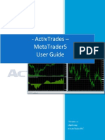 ActivTrades MT 5 User Guide