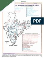 Proposed River Interlinking Plan