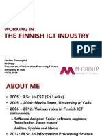 Working in Finland ICT 2014