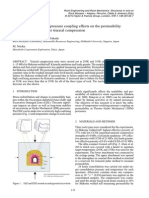 CH010 - Temperature-confining pressure coupling effects on the permeability of three rock types under triaxial compression