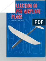 Collection of Paper Airplane Plans