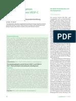 Die lymphangiogenen Wachstumsfaktoren VEGF-C und VEGF-D