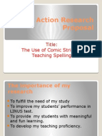 An Action Research Proposal