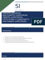 Difusi (Hari Purwito, Hendipo, I Putu Putra J P, Ivan Sanjaya)