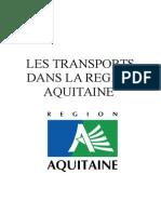 La politique de mobilité durable du conseil régional Aquitain