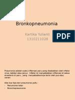 Bronkopneumonia Idk
