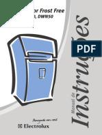 manual de uso de una geladeira