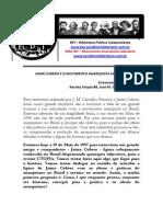 Jamie Cubero e o Movimento Anarquista No Brasil - Jaime Cubero - Bpi