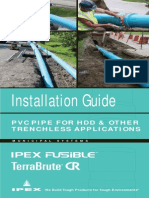 Trenchless Applications Installation Guide