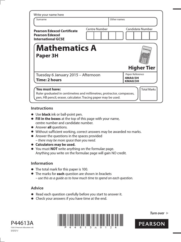 Felsebiyat Dergisi – Popular Edexcel Igcse Maths Past Papers