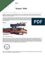 Mosin Nagant Sniper Sighting In