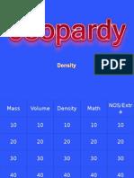 Density Jeopardy Review
