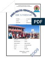 Proyecto Educativo de La Ue Franz Tamayo