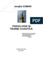 Psihologie Si Teorie Cuantica