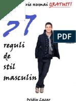 Reguli de Stil Masculin