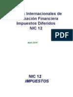 NIC 12 ImpuestosDiferidoss