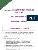 redaccinypresentacindeunatesis-130504192554-phpapp01