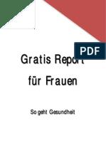 Gratis Report Fuer Frauen