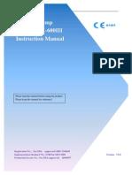 SK600III Instruction Manual