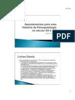 Apontamentos para uma História da Psicopatologia no século XX e XXI.pdf