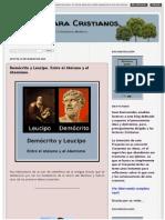 Demócrito y Leucipo - Entre el Ateismo y el Atomismo.pdf