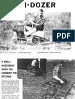 Mini Dozer Info 1979