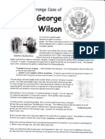 Strange Case of GEORGE WILSON - Refusing a Pardon
