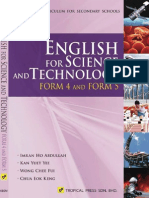 English for Science and Technology Form 4 & Form 5 (KBSM Textbook)