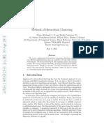 Clustering Hierarchical Algorithms